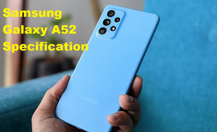 galaxy a52 specification